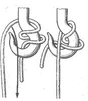 Рис. 106. Гачный узел со шлагом