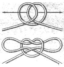 Рис. 90. Кандальный узел