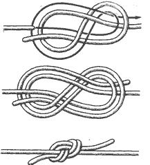 Рис. 21. Фламандский узел
