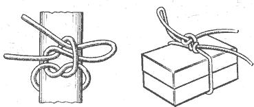 Рис. 94. Рифовый узел