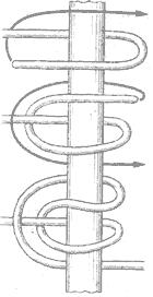 Рис. 62. Зигзаговый узел