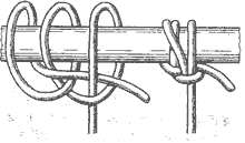 Рис. 58. Щучий узел