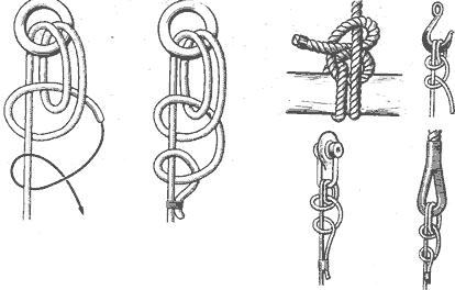 Рис. 15. Рыбацкий штык (якорный узел)