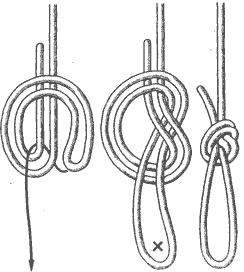 Рис. 66. Дубовая петля