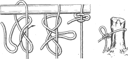 Рис. 102. Курьерский узел
