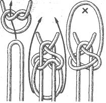 Рис. 116. Лучниковская петля