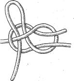 Рис. 96. Развязывающийся ткацкий узел