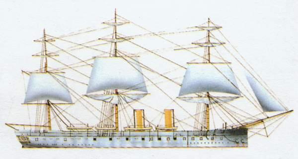 «Bacchante»(«Вакханка»)крейсер (Великобритания)