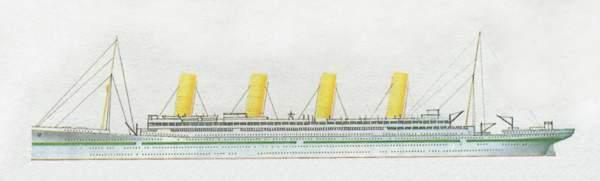 «Britannic»(«Британик»)лайнер (Великобритания)