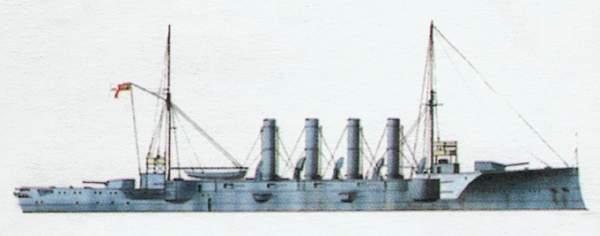 «Aboukir»(«Абукир»)броненосный крейсер (Великобритания)