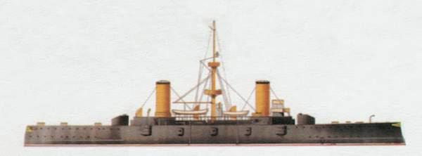 «Cristóbal Colon»<br/>(«Кристобаль Колон»)<br/><br/>броненосный крейсер (Испания)