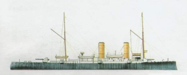 «Elba»(«Эльба»)крейсер (Италия)