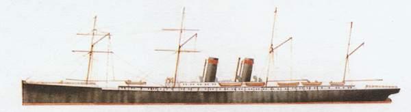 «Arizona»(«Аризона»)пассажирский лайнер (Великобритания)