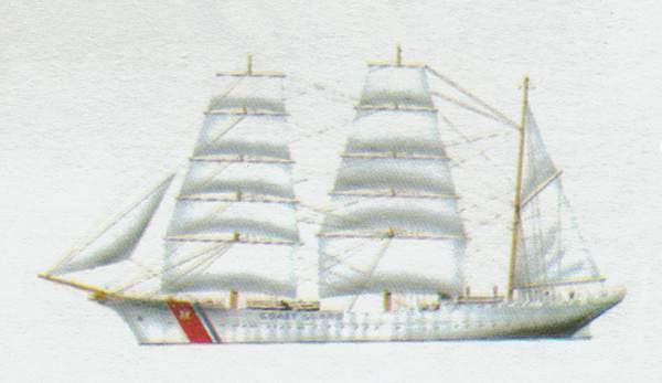 «Eagle»(«Игл»)учебный корабль (США)