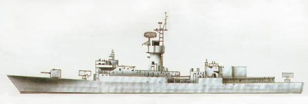 «Downes»(«Даунз»)фрегат (США)