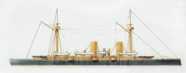 «Esmeralda»(«Эсмеральда»)крейсер (Чили)