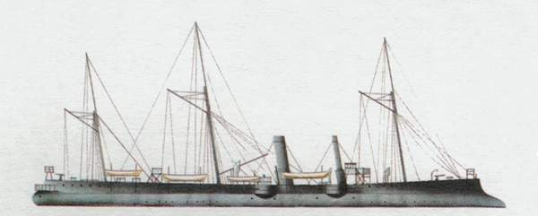 «Cosmao»(«Космао»)крейсер (Франция)