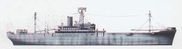 «Appalachian»(«Аппалачиан»)командный корабль (США)