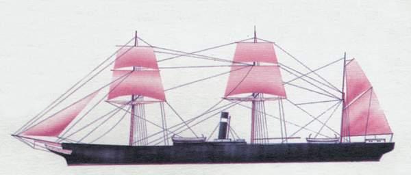 «City ofGlasgow»(«Сити офГлазго»)лайнер (Великобритания)