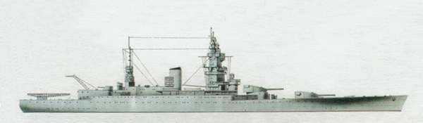 «Dunkerque»(«Дюнкерк»)линейный крейсер (Франция)