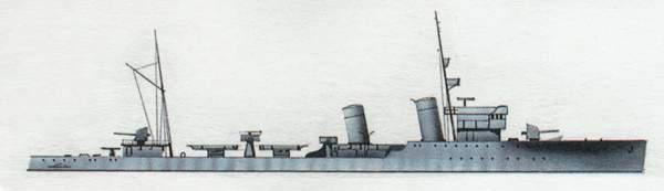 «Bettino Ricasoli»(«Беттино Рикасоли»)эсминец (Италия)