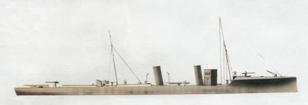 «Euro»(«Эвро»)эсминец (Италия)