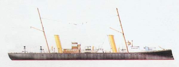 «Aretusa»(«Аретуза»)минный крейсер (Италия)