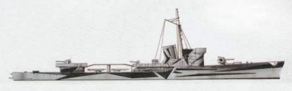 «Daga»(«Дага»)эскортный корабль (Италия)