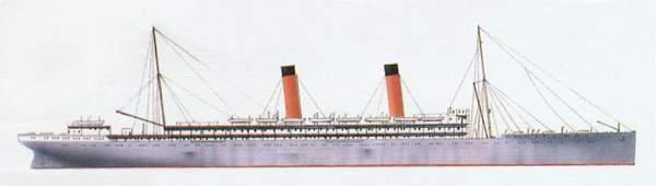 «Balmoral Castle»(«Болморэл Касл»)лайнер (Великобритания)