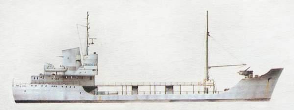 «Basento»(«Басенто»)военно-морской водоналивной танкер (Италия)
