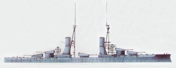 «Andrea Doria»(«Андреа Дориа»)линкор (Италия)