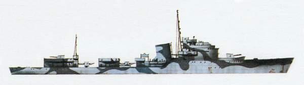«Artigliere»(«Артильере»)эскадренный миноносец (Италия)