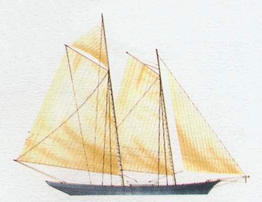 «America»(«Америка»)гоночная яхта (США)