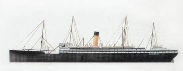 «Derbyshire»(«Дербишир»)лайнер (Великобритания)