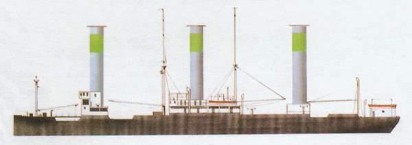 «Barbara»(«Барбара»)торговое судно (Германия)