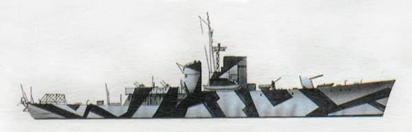 «Bombarda»(«Бомбарда»)эскортный корабль/корвет (Италия)