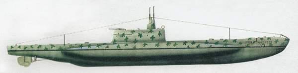 «Brin»(«Брин»)подводная лодка (Италия)