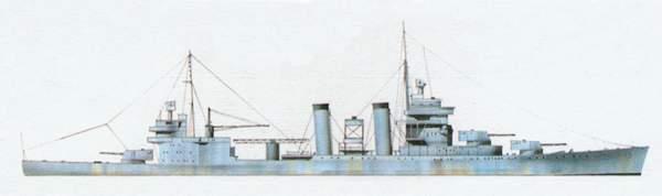 «Astoria»(«Астория»)крейсер (США)