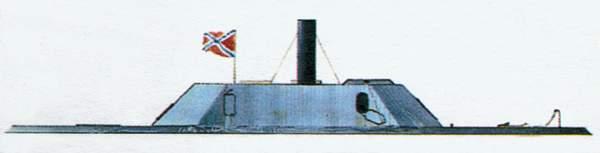 «Albemarle»(«Албемарл»)броненосец (Конфедерация)