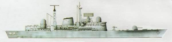 «Edinburgh»(«Эдинбург»)эсминец (Великобритания)