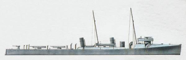 «Borea»(«Бореа»)эсминец (Италия)