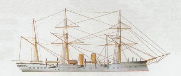 «Cristoforo Colombo»(«Кристофоро Коломбо»)крейсер (Италия)