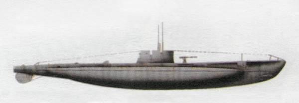 «Dagabur»(«Дагабур»)подводная лодка (Италия)