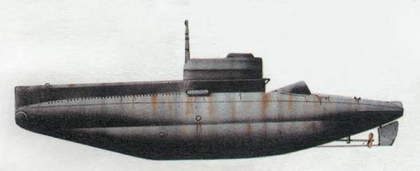 «Beta»(«Бета»)подводная лодка (Италия)