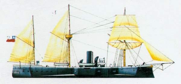 «Almirante Cochrane»(«Адмирал Кочран»)броненосец (Чили)