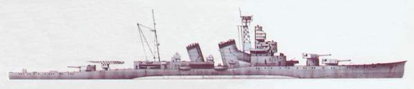 «Aoba»(«Аоба»)крейсер (Япония)