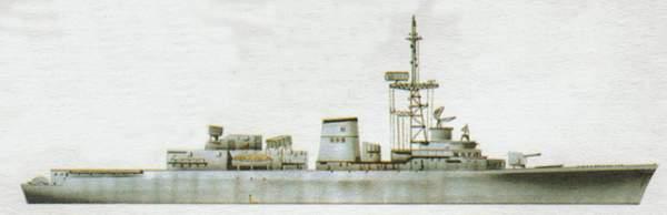 «Dupleix»(«Дюплэи»)эсминец (Франция)