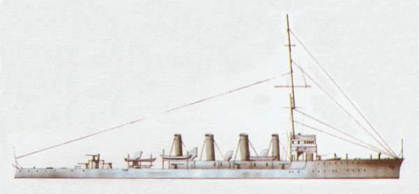«Attentive»(«Эттентив»)крейсер (Великобритания)