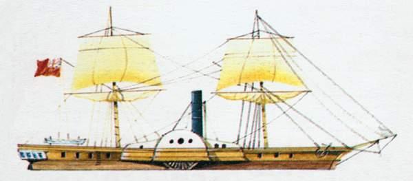 «Alecto»(«Алекто»)канонерская лодка (Великобритания)