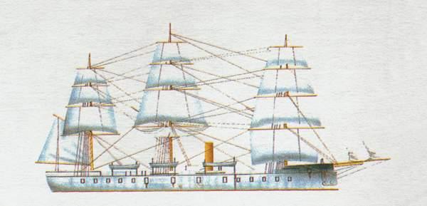 «Zaragosa»(«Сарагоса»)броненосец (Испания)